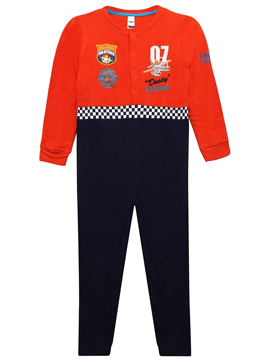 Ex-Store Boys All In One Disney Planes Dusty Air Attack Sleepsuit