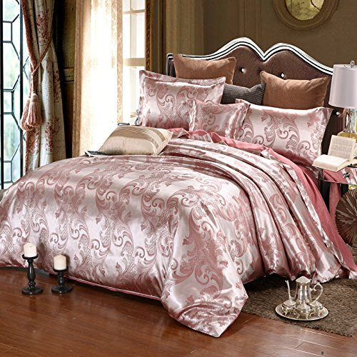 BB.er Silk jacquard bedding four sets of double bed textile, cameo -