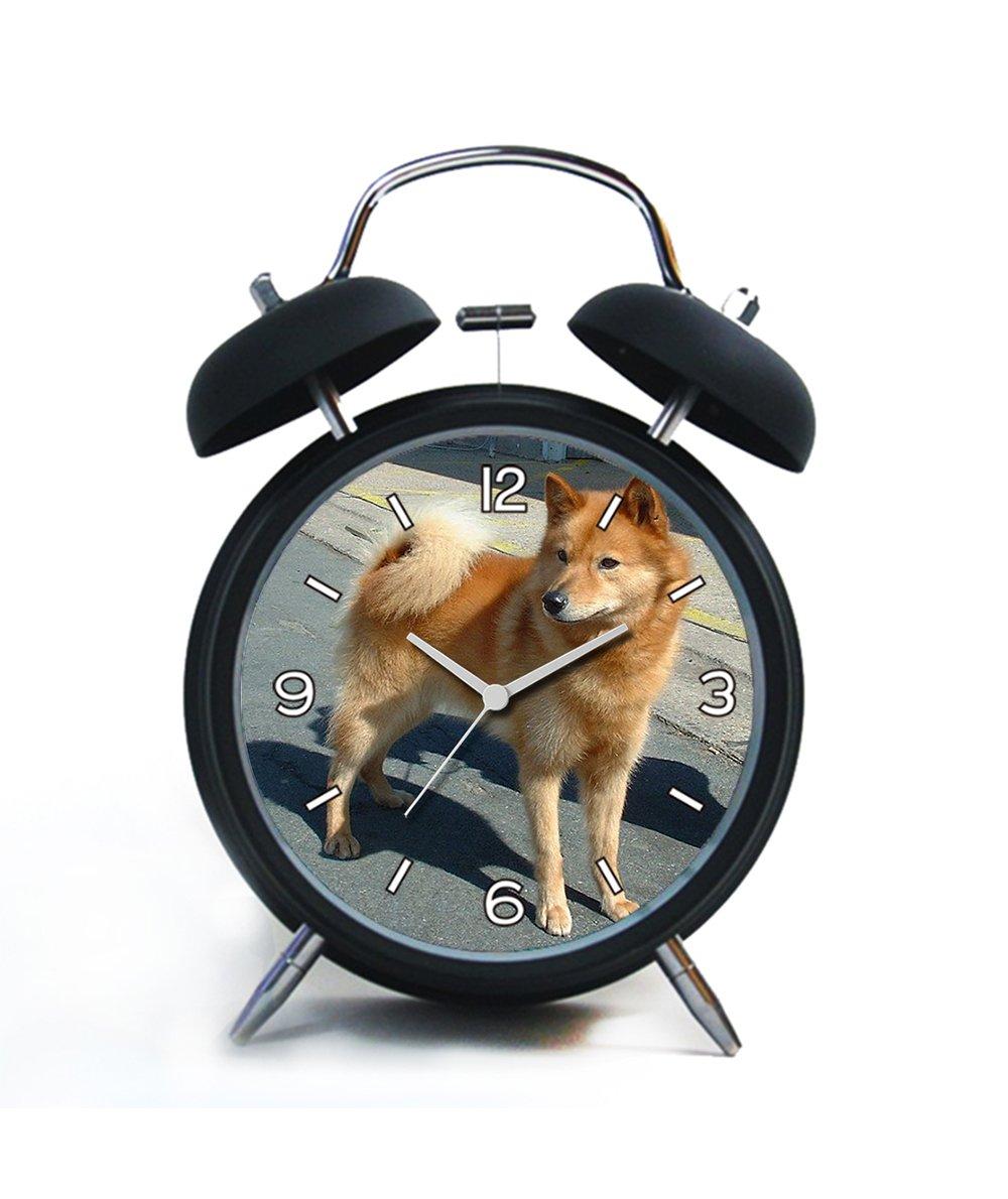Twin Bell analógico alarma clock-loud alarma reloj (negro ...