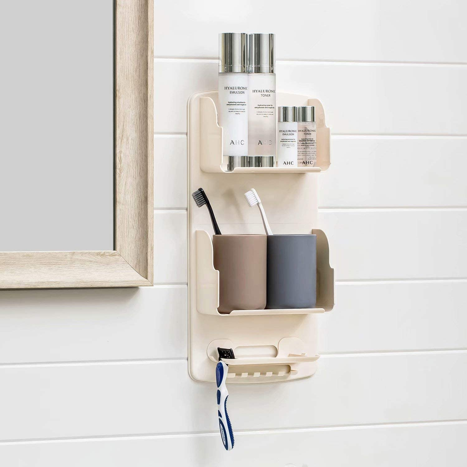 Shower Caddy with Hooks for Hanging