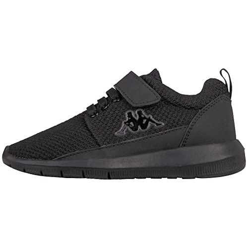 Kappa Speed Kids, Zapatillas Unisex Infantil, Negro (1111 Black 1111 Black), 30 EU