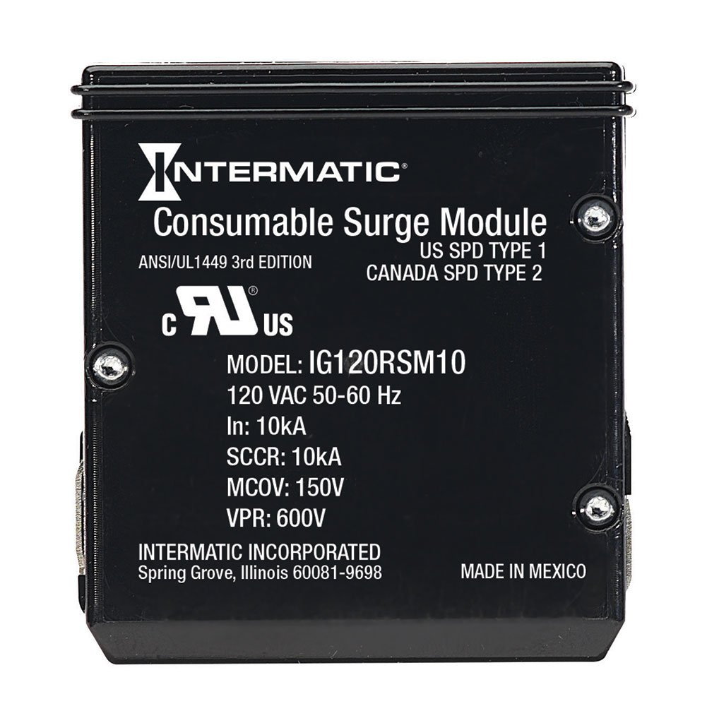 IntermaticIModuleIG120RSM10KReplacement Module for Smart Guard Whole Home Surge Protector by Intermatic