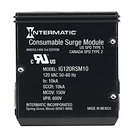 Review IntermaticIModuleIG120RSM10KReplacement Module for Smart