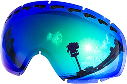 f33475d069 Zero Replacement Lenses For Oakley Crowbar Snow Goggle Green Mirror ...