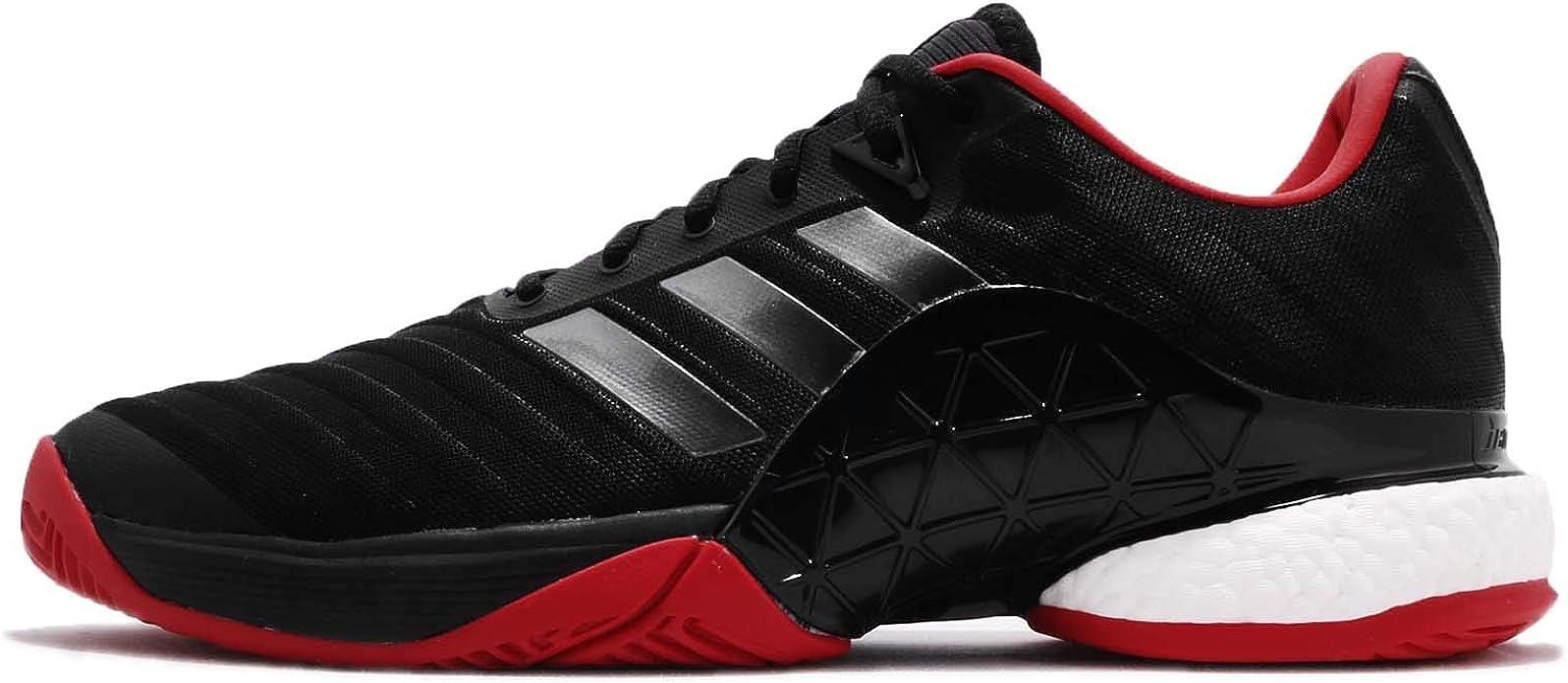Gran engaño Supermercado Independencia  adidas Men's Barricade 2018 Boost Tennis Shoes: Amazon.co.uk: Shoes & Bags