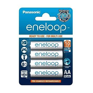 Panasonic eneloop 2000mah aa bk-3mcce x4