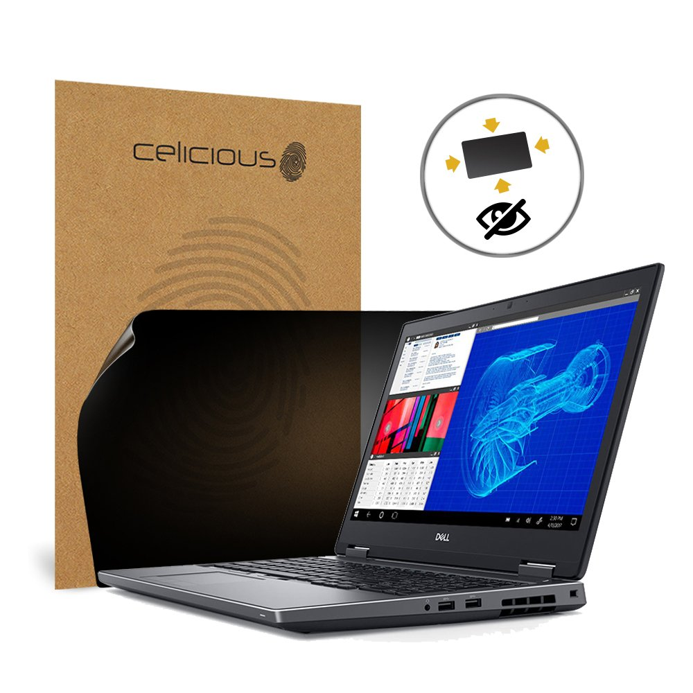 Celicious Privacy Plus 4-Way Anti-Spy Filter Screen Protector Film Compatible with Dell Precision 15 7530 (Non-Touch)