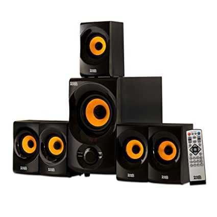 amazon com: acoustic audio aa5170 home theater 5 1 bluetooth speaker system  700w with powered sub: home audio & theater