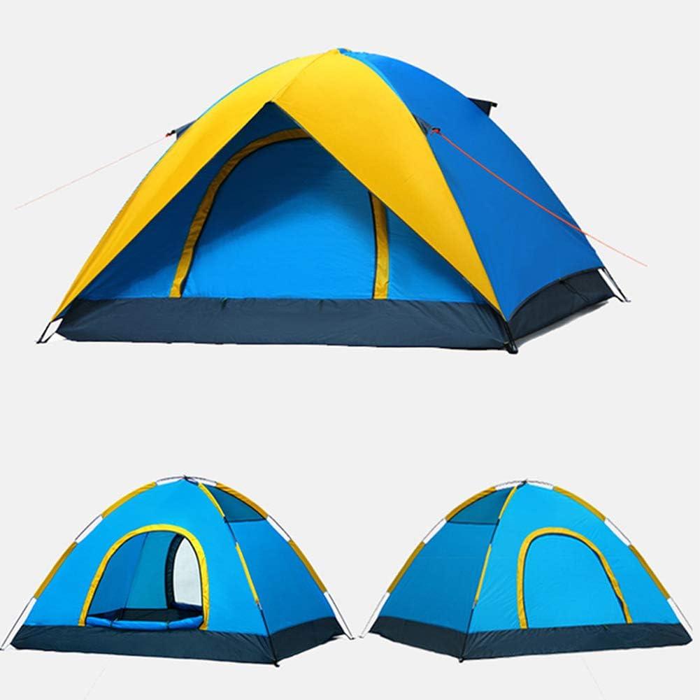 LXLTLB Tente Tunnel pour, Abri De Plage avec Protection Solaire UV UPF 50+ pour 2-3 Personnes,Tente De Plage Instantanée Portable Escamotable,Jaune Yellow
