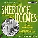 Die fünf Orangenkerne / Der Mann mit der entstellten Lippe (Die Abenteuer des Sherlock Holmes) Hörbuch von Arthur Conan Doyle Gesprochen von: Oliver Kalkofe