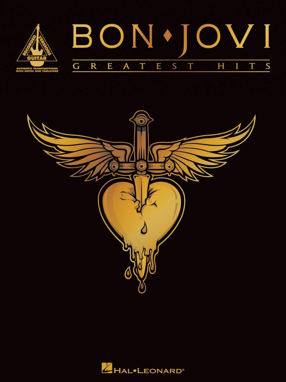 Hal Leonard Bon Jovi Greatest Hits Guitar Tab Songbook Hal