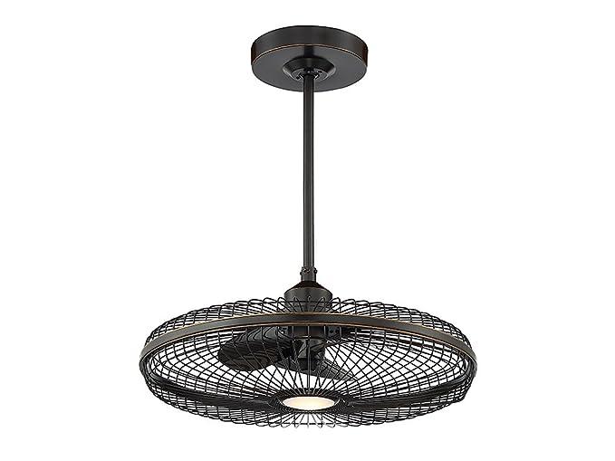 Amazon.com: Ventiladores de techo interior 1 luz w/acabado ...