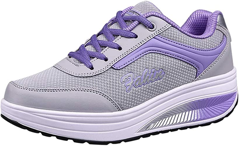 Chaussures de Sport Femme Plateforme Running Baskets