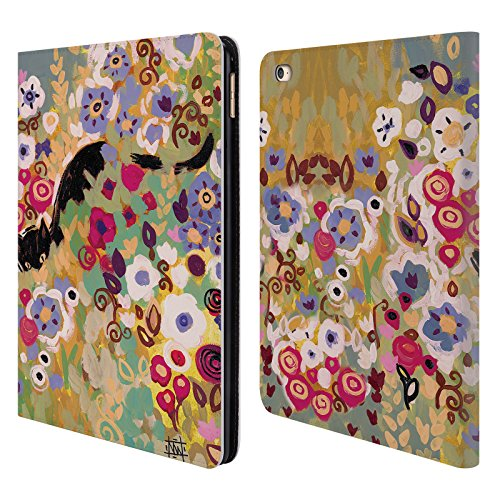 Official Natasha Wescoat Cat Florals Leather Book Wallet ...