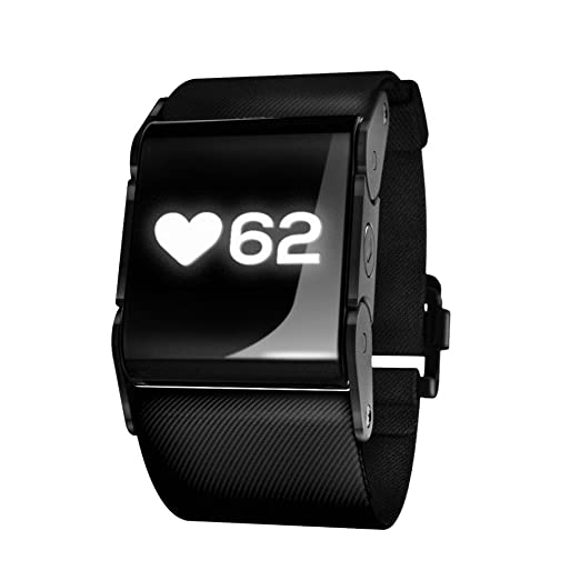 pulseon wrist watch heart rate monitoring system black 15 9 21 8