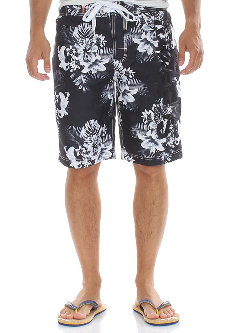 Superdry Badeshorts Men SUPERDRY BOARDSHORT Mono Tropical Aop