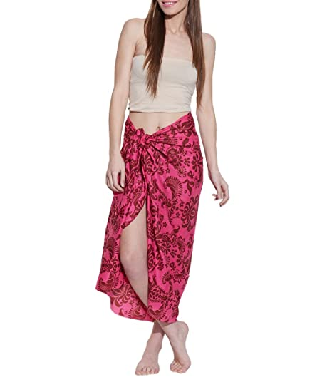 8dbaae5ce1247 Sarong Wrap Swimwear Cover Ups for Women, Designer Quality Swimsuit Coverups