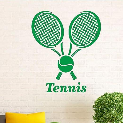zqyjhkou Calcomanía de Pared de Deportes de Tenis Pelota de Tenis ...