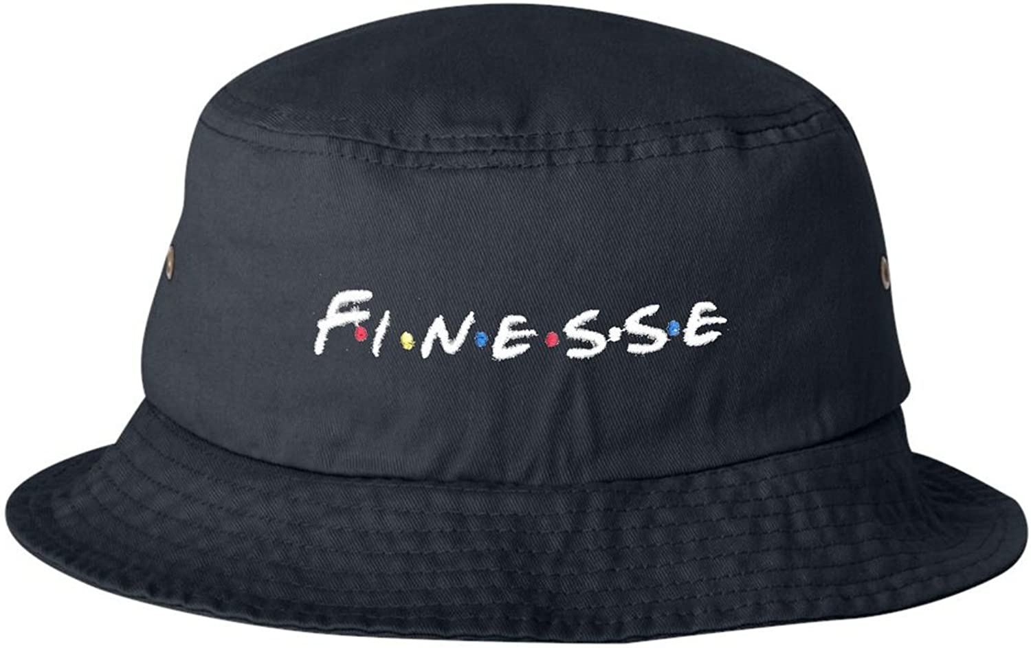 Go All Out Adult Finesse Embroidered Bucket Cap Dad Hat