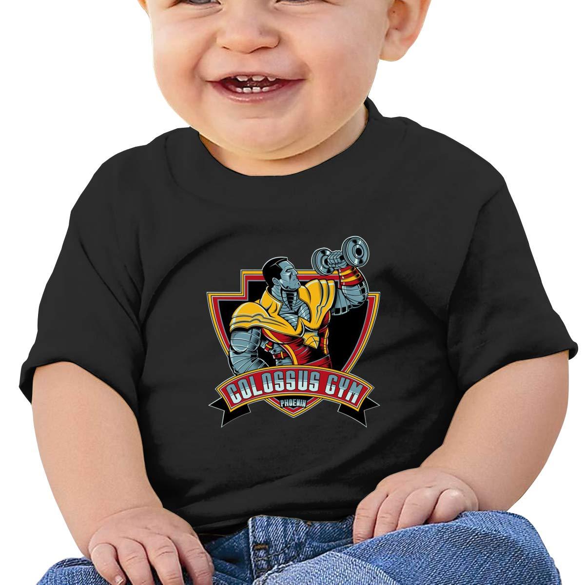 Colossus Gym Phoenix Toddler Short-Sleeve Tee for Boy Girl Infant Kids T-Shirt On Newborn 6-18 Months