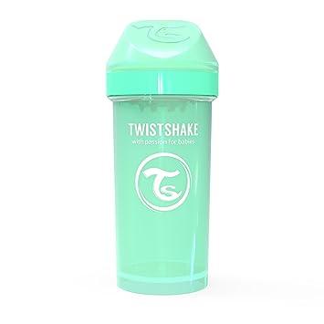 Vaso TWISTSHAKE Twistshake Straw Cup 360ml 12+m Pastel Verde