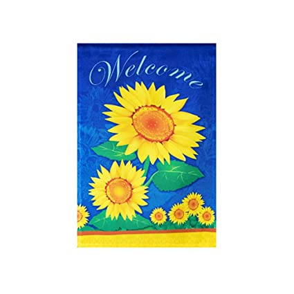 Ordinaire Sunflower Garden Flag   12 X 18 Inch