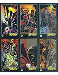 SPAWN WIDEVISION 1995 WILDSTORM COMPLETE BASE CARD SET OF 152 MC