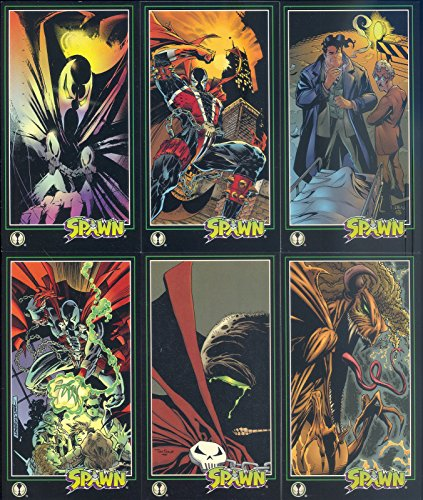 (SPAWN WIDEVISION 1995 WILDSTORM COMPLETE BASE CARD SET OF 152 MC)