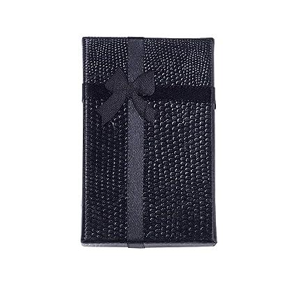 NBEADS - Juego de 24 Cajas de cartón para joyería, con Lazo ...