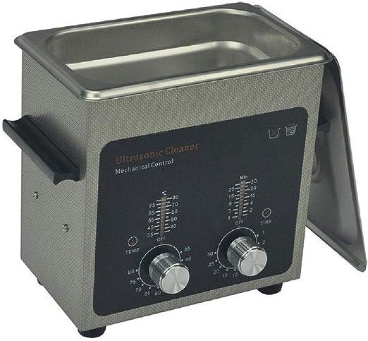 LJAO Pequeña máquina de Limpieza por ultrasonidos Joyas Gafas ...