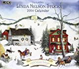 Lang Perfect Timing-Lang 2014 Linda Nelson Stocks Wall Calendar, January 2014-December 2014, 13.375x24-Inch (1001693)
