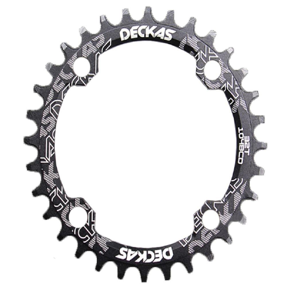 Anillo ovalado de cadena de aluminio MTB marca Grofitness para reparar bicicletas