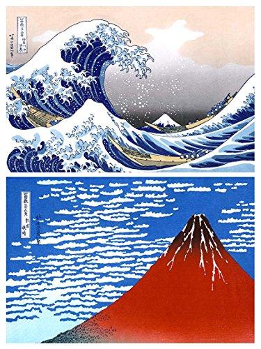 Buttonsmith Katsushika Hokusai Japanese Magnet