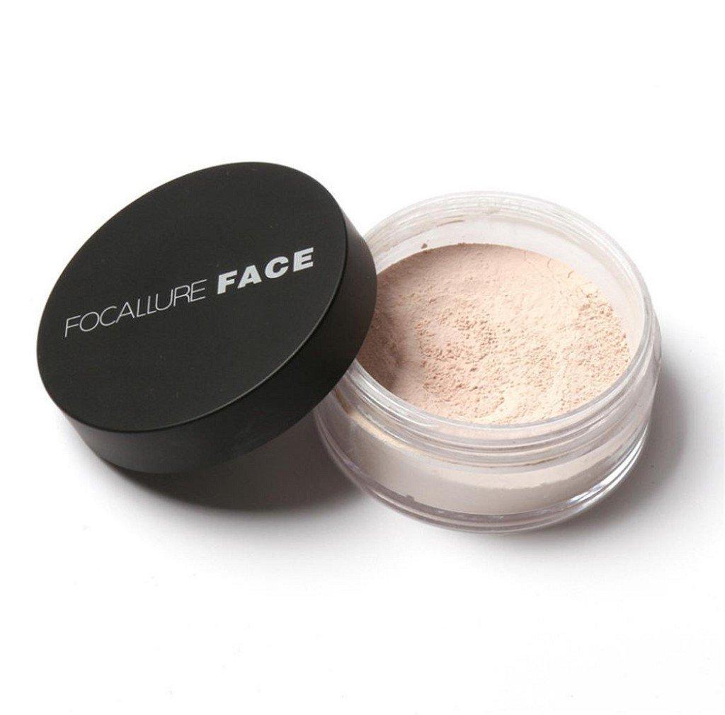 Tefamore Oil Lasting Anti-sweat Breathable Transparent Loose Powder (B)
