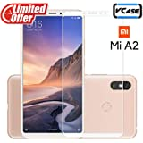Vcase 9H Pro Plus Anti-Fingerprints and Oil Stains Coating Shatterproof Ultra HD Tempered Glass Screen Protector for Redmi A2/Mi 6X (White)