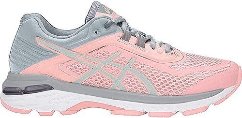 Asics GT-2000 6 - Zapatillas de running para mujer, Rosa (Rosa esmerilada/Gris Piedra), 40 EU: Amazon.es: Zapatos y complementos