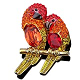 AZO Bird Brooches and Pins for Women - Luxury - Mall of Style (Macaw)