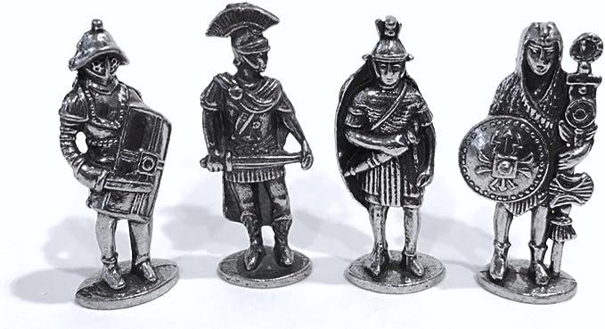 Roman Military miniatures 1 Set Pewter// Zinc