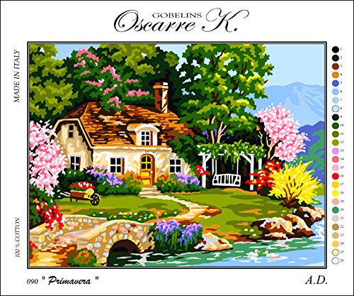 - Krainer Needlepoint Kit Cottage 19.3