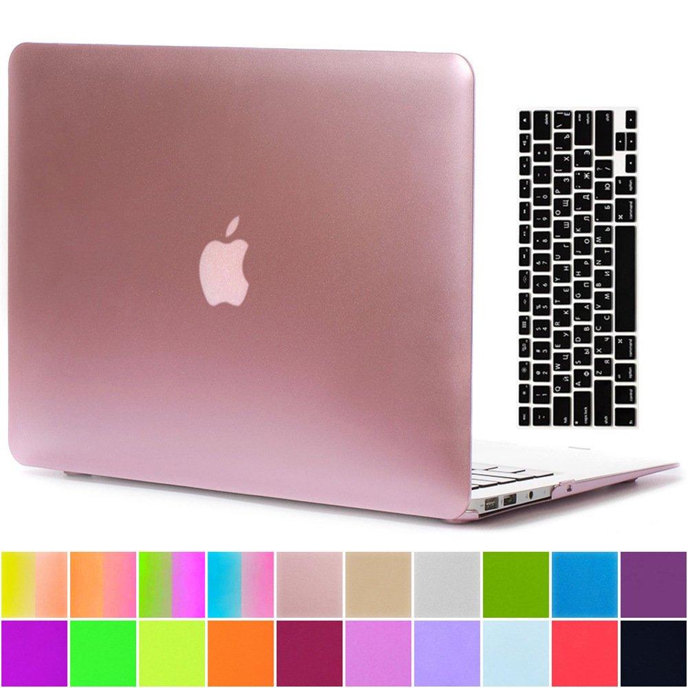 AY0070 Macbookシリーズ用ケース + キーボードカバー プロテクター Macbook Pro 15 With Retina Display AY0070-15Retina-Metallic-Pink B01M1CEZ4S Macbook Pro 15 With Retina Display,C2 Metallic Pink