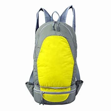 Thikin Impermeable Senderismo Mochila 20L, Ligero Mochila Plegable para Cintura Pack para Hombres Mujeres al Aire Libre Viajar Camping Running (hidratación) ...