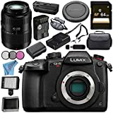 Panasonic Lumix DC-GH5S Mirrorless Micro Four Thirds Digital Camera Lumix G Vario 45-200mm f/4-5.6 II POWER O.I.S. Lens Bundle