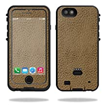 MightySkins Protective Vinyl Skin Decal for LifeProof FRE Power iPhone 6/6S Case wrap cover sticker skins Sandlwood Leather