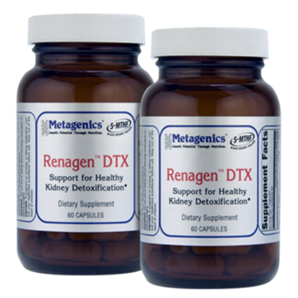 Metagenics Renagen DTX 60 Caps - TwinPak