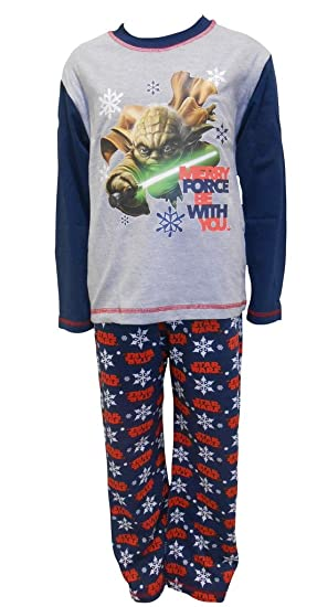 disney star wars yoda christmas big boys pajamas - Star Wars Christmas Pajamas
