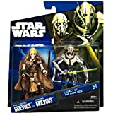 (US) Star Wars Legacy of the Dark Side Pre-Cyborg Grievous to General Grievous Exclusive 2-Pack