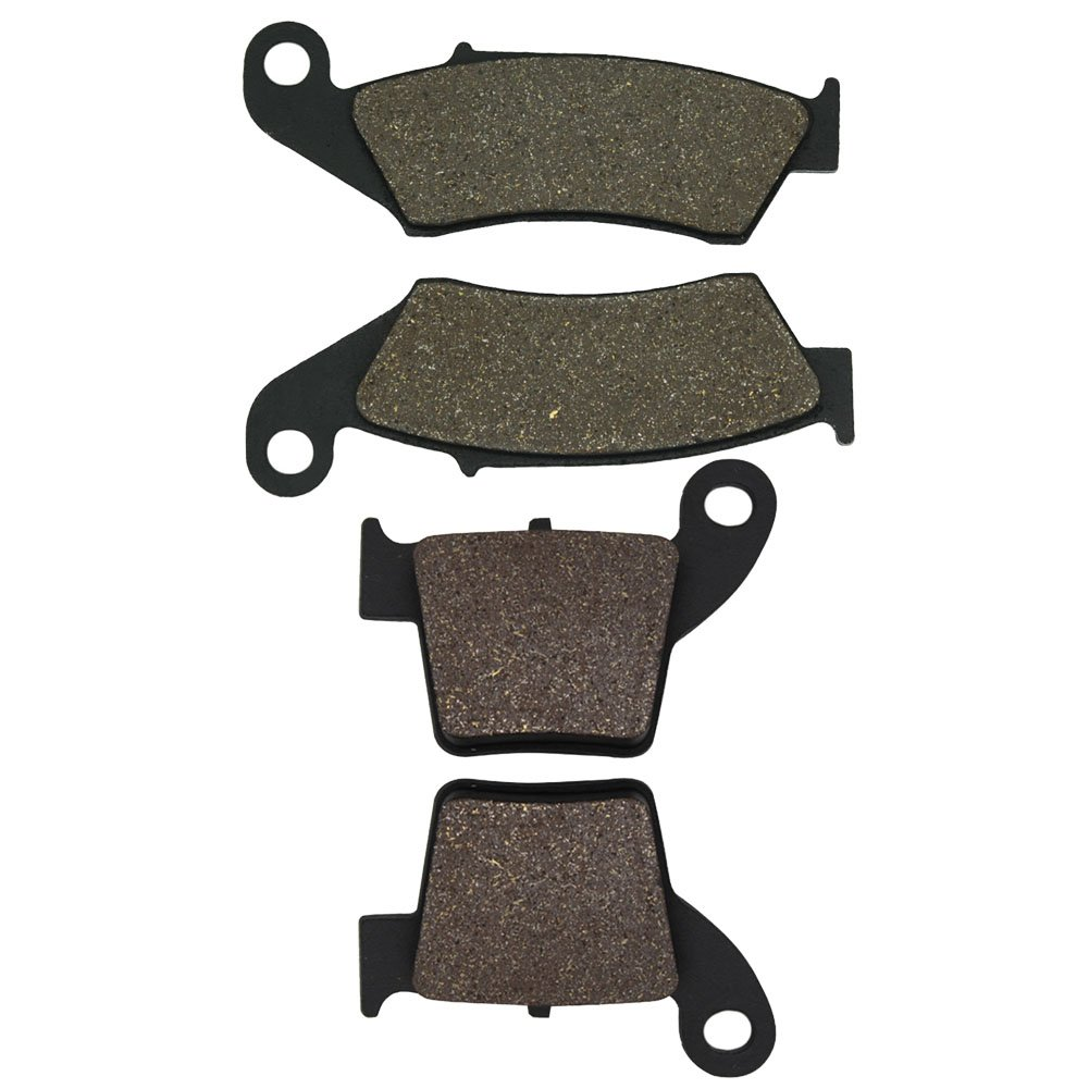 CRF450 X CRF450X 2005-2016 Cyleto Front and Rear Brake Pads for Honda CRF450 R CRF450R 2002-2016