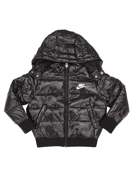 f7c9e7d0a Nike Kids Unisex Polyfill Bomber Jacket (Little Kids) Black 4 US ...