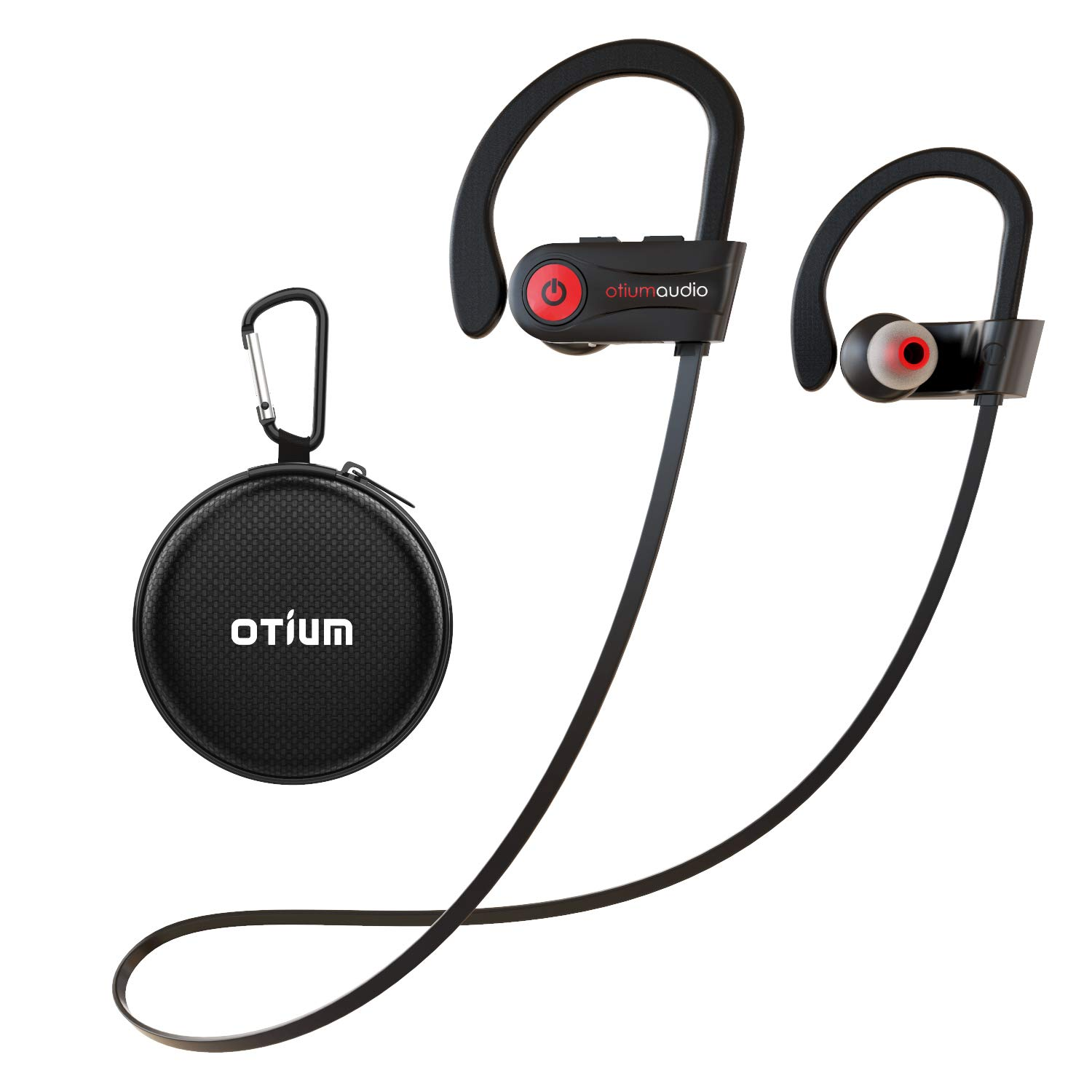 Otium Wireless Headphones, Bluetooth Headphones, Best Sports Earbuds, IPX7 Waterproof Stereo Earphones for Gym Running 9 Hours Playtime Noise Cancelling Headsets by Otium