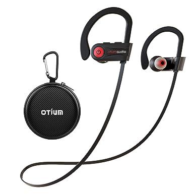 fa0202c199b Bluetooth Headphones, Otium Best Wireless Sports Earbuds, Waterproof IPX7  w/Mic, HD